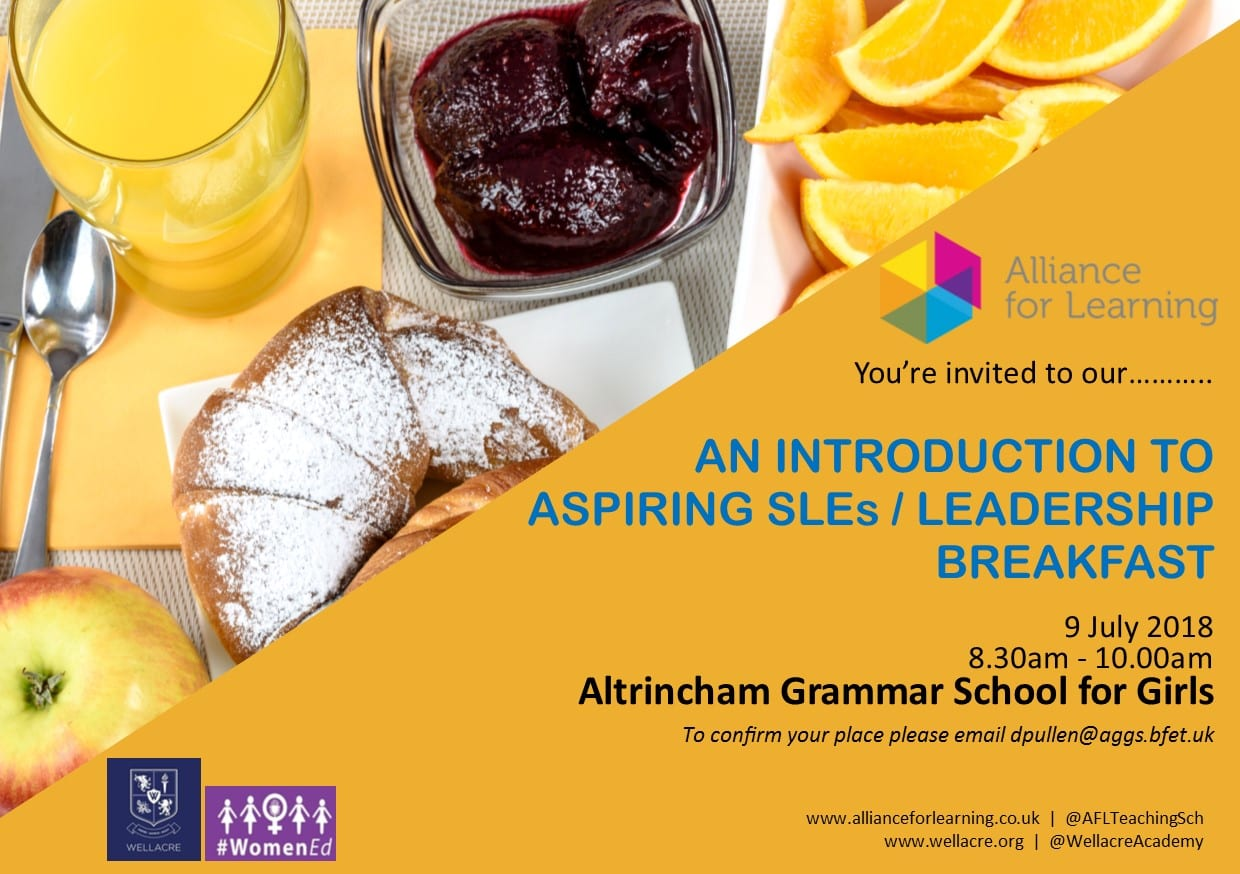 An Intro to Aspiring SLEs Breakfast